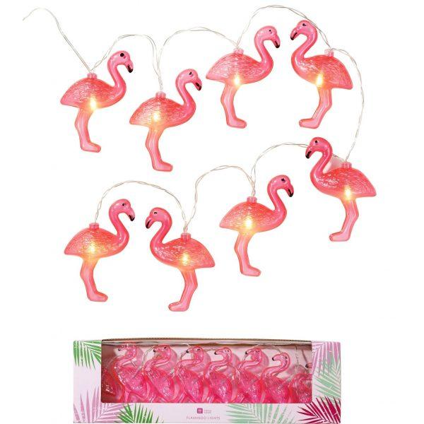 Flamingo Lichterkette -0