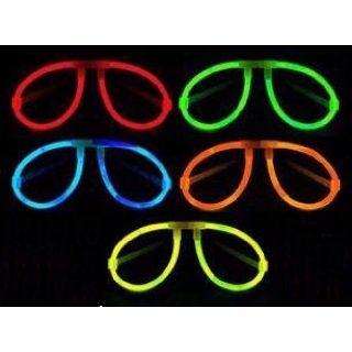Farbige Glow Stick Leuchtbrille 1 Stk.-0