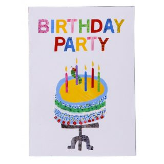 10 Raupe Nimmersatt Party Einladungen-0
