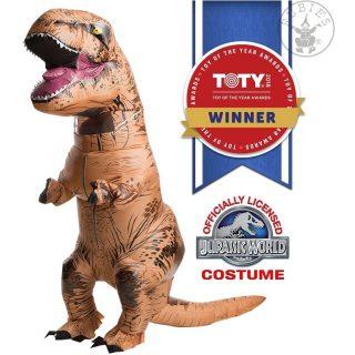 Aufblasbares Dinosaurier Kostüm Rubies Lizenzierte Version-0