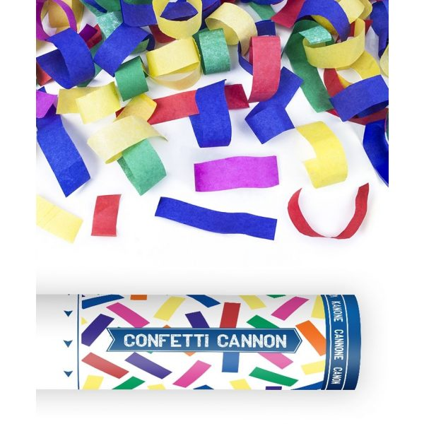 Konfettikanone Bunte Papierkonfetti Shooter-0