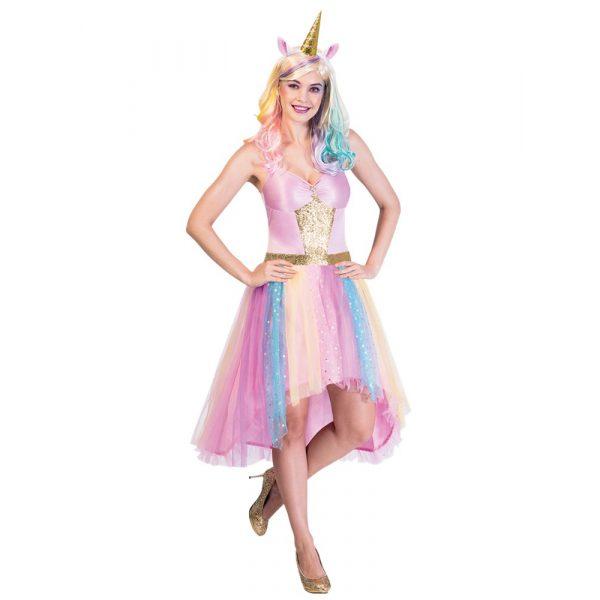 Magisches Einhorn Kostüm Damen Large-0