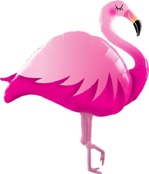 XL Pink Flamingo Folienballon 117 cm-0