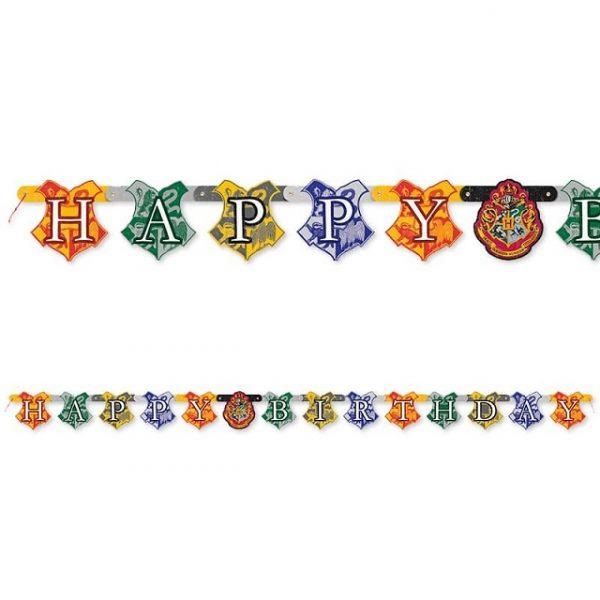 Harry Potter Happy Birthday Buchstaben Girlande 182 cm-0