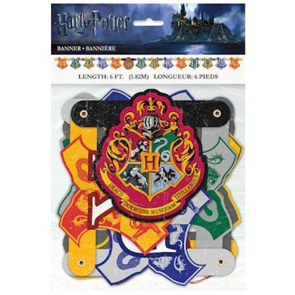 Harry Potter Happy Birthday Buchstaben Girlande 182 cm-6089