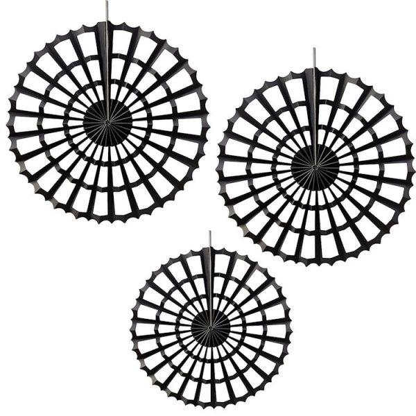 3 Spinnennetz Fächer -6138