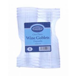 8 Einweg Weingläser-0