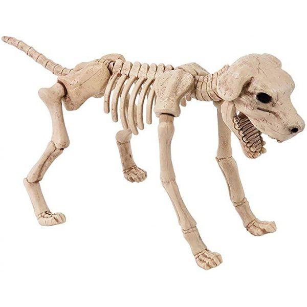 Halloween Hund Lebensgroßes Skelett -0