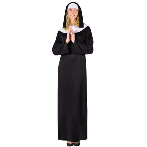 Nonne Kostüm Einheitsgröße-0