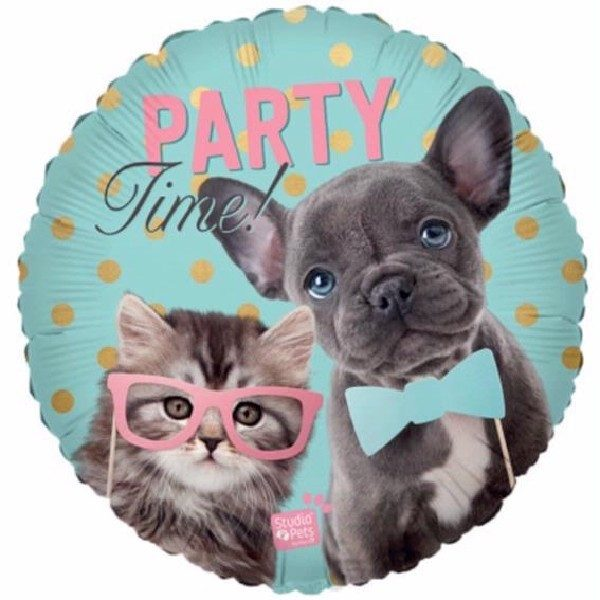 Party Time Folienballon 45 cm-0