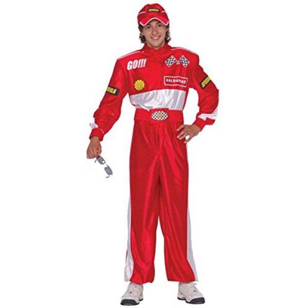 Rennfahrer Kostüm Einheitsgröße-0