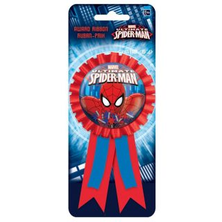 Spiderman Rosette Badge-0