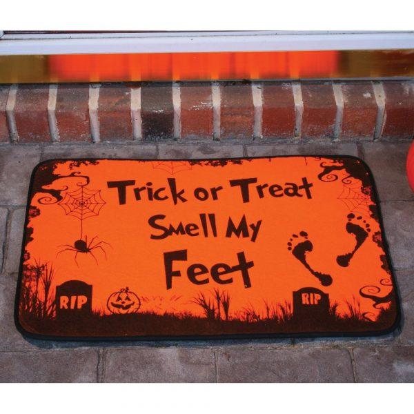 Halloween Trick or Treat Türmatte-0
