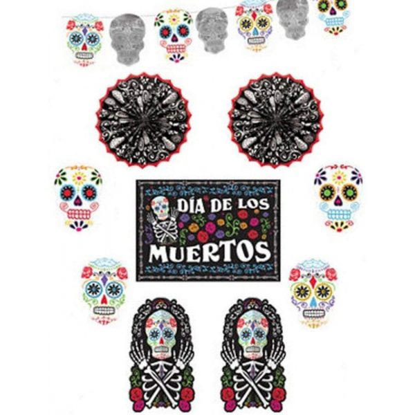 Day of the Dead Decorating Kit 10 tlg.-0