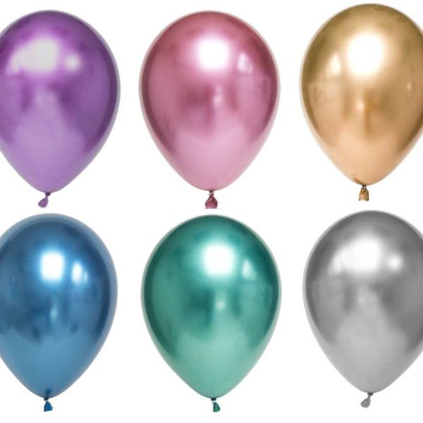 Chrome Helium-Ballonstrauß Bestellen Nur Abholung -6680