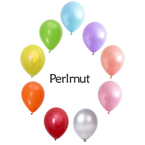 Perlmut Helium-Ballonstrauß Bestellen Nur Abholung -0