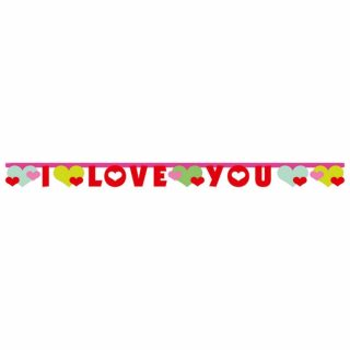 I Love You Girlande Lovely Moments 170 cm-0