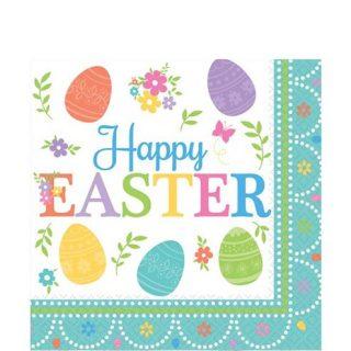 Happy Easter Ostern Servietten-0