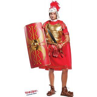 Deluxe Gladiator Kostüm Inkl. Zubehör Erwachsene Small-0