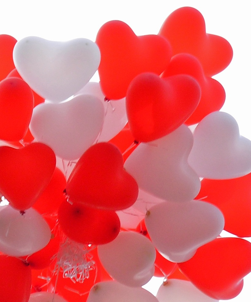 Herz Helium-Ballonstrauß Bestellen Nur Abholung -6908