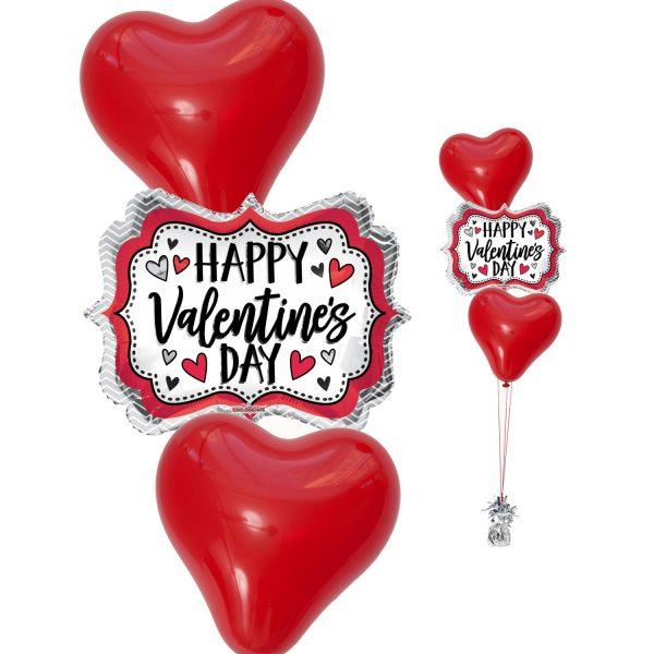 Happy Hearts Classic Ballonstrauss Nur Abholung-0
