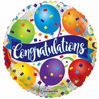 Congratulations Folienballon 45 cm-0