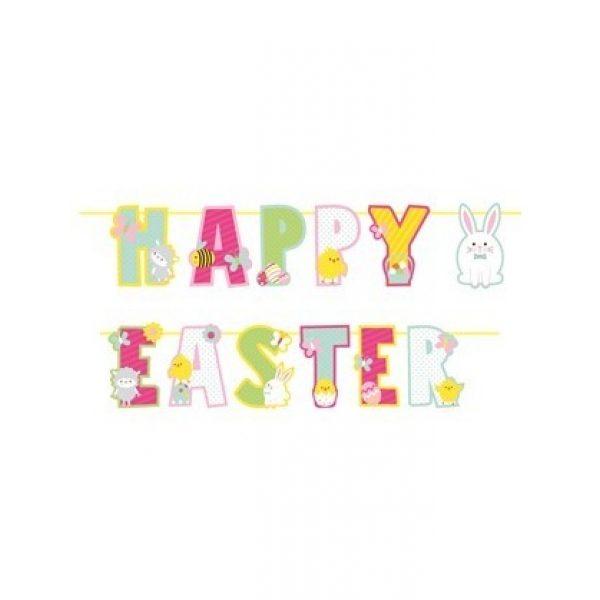 Happy Easter Buchstaben Girlande-0