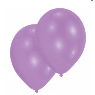 10 Lila Luftballoons 28 cm-0