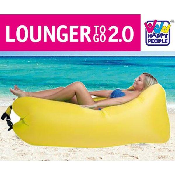 Luftsofa Lounger ToGo v2.0 Gelb-0
