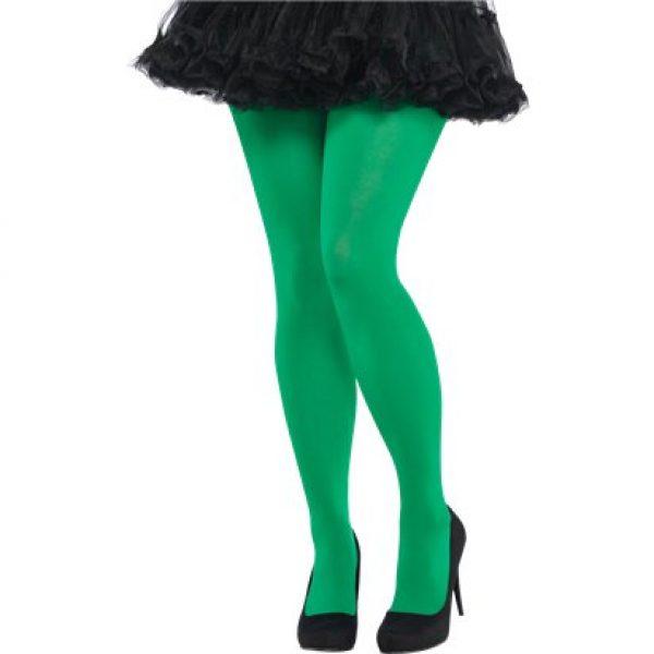 Grüne Strumpfhose M/L-0