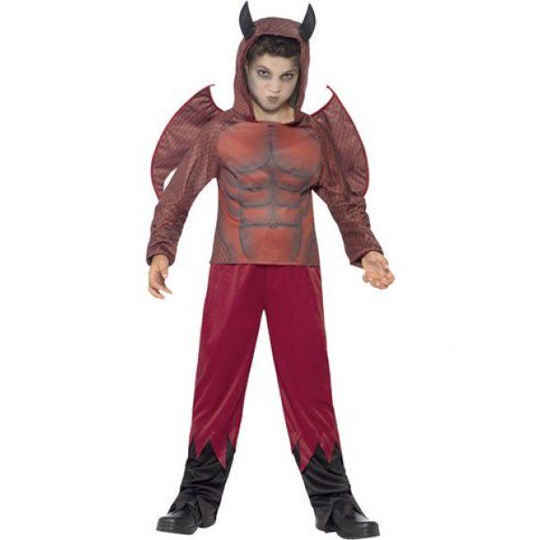 Deluxe Devil Teufel Kostüm Kinder Small 4-6 Jahre-0