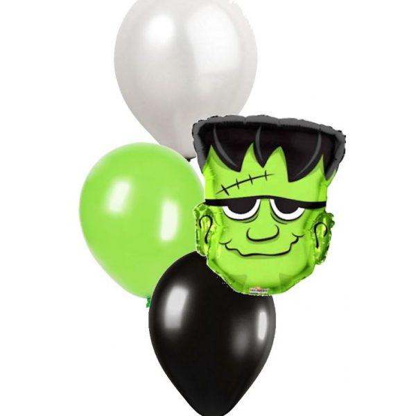 Funky Frankenstein Ballonstrauß Nur Abholung-0