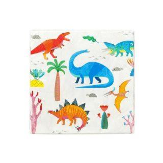 20 Dinosaurier Servietten-0