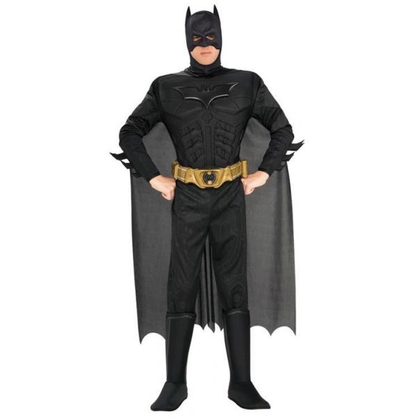 Batman Deluxe Muskel Kostüm für Erwachsene Medium-0