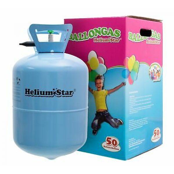 Helium Star Einweg-Flasche 50 -0