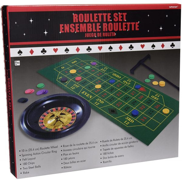 Casino Roulette Set -7297