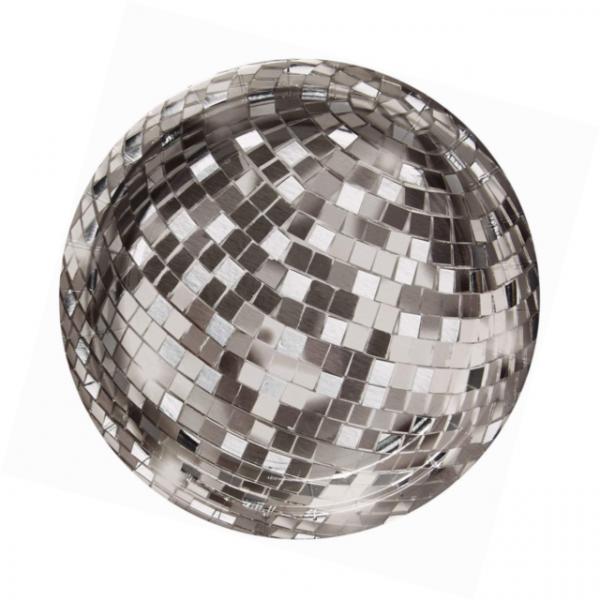 12 Disco Fever Pappteller Klein-7294