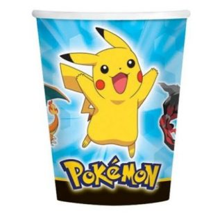 8 Pokemon Pappbecher 250 ml-0