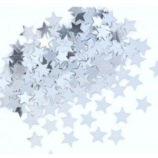 Silber Stern Konfetti-0