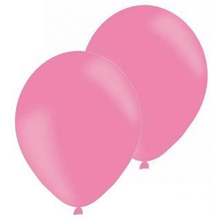 10 Pink Rosa Luftballons 28 cm-0