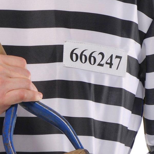Gefangener Kostüm Plus Size-7393