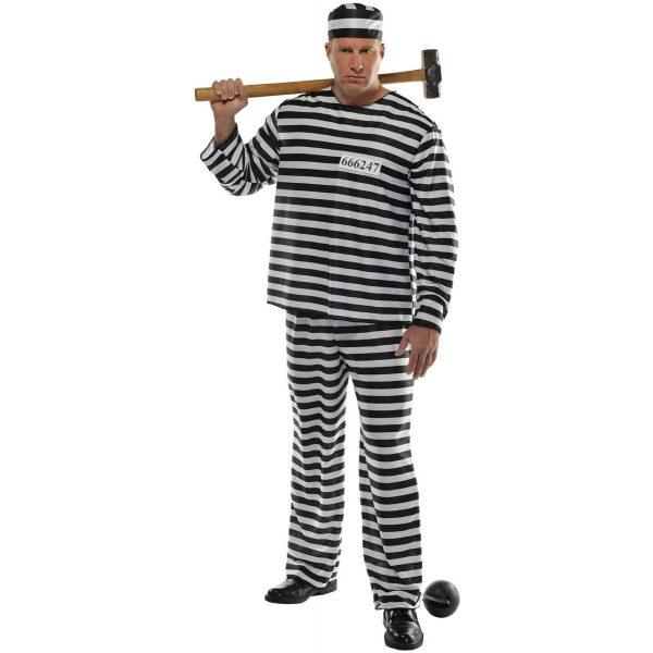 Gefangener Kostüm Plus Size-0