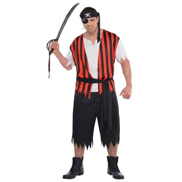 Piraten Ahoi Kostüm Plus Size-0