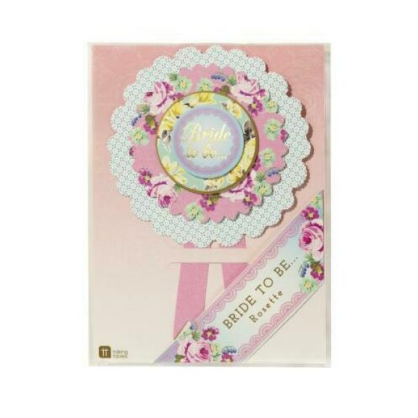 Bride To Be Truly Hen Rosette-7390