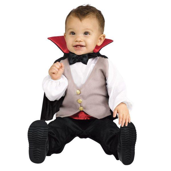 Baby Dracula Vampir Kostüm 12-24 Monaten-0