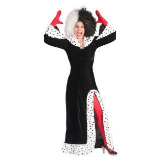 Cruel Lady Kostüm Kleid Damen Small 36/38-0