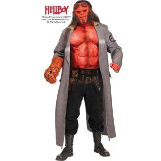 Hellboy Kostüm Erwachsene Einheitsgröße-0