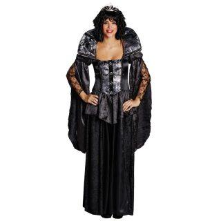 Dark Queen Kostüm Damen Gr 38-0