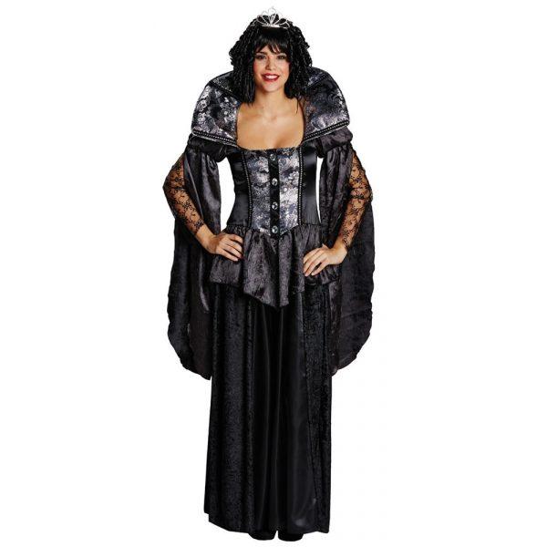 Dark Queen Kostüm Damen Gr 36-0