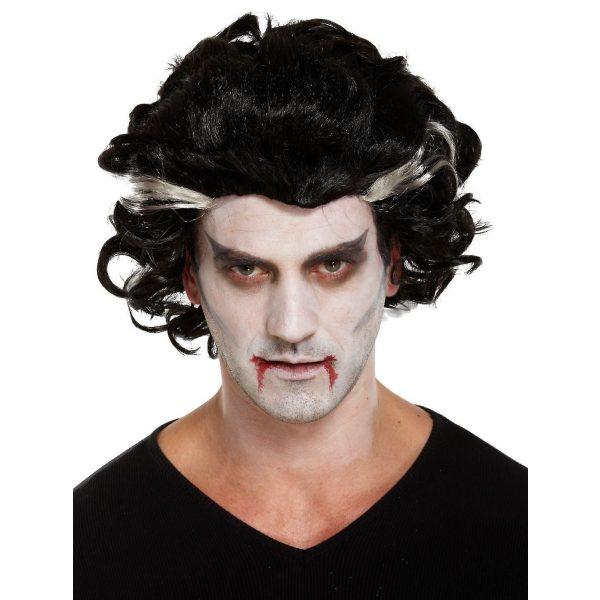 Vampir Perücke Erwachsene-0